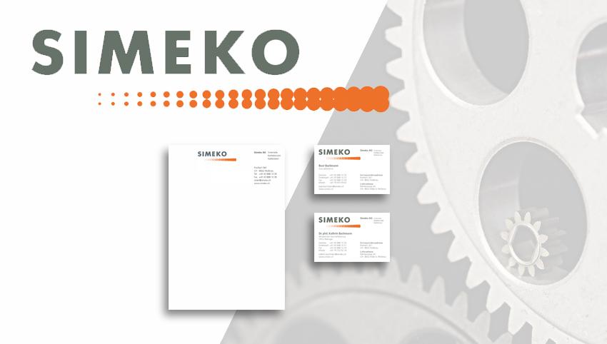 Simeko-CI-Geschäftspapiere