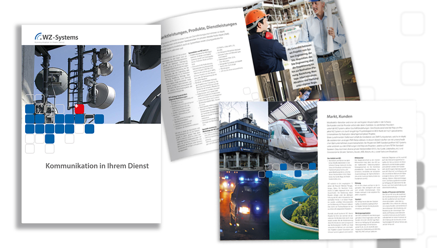 WZ-Systems-Firmenbroschüre