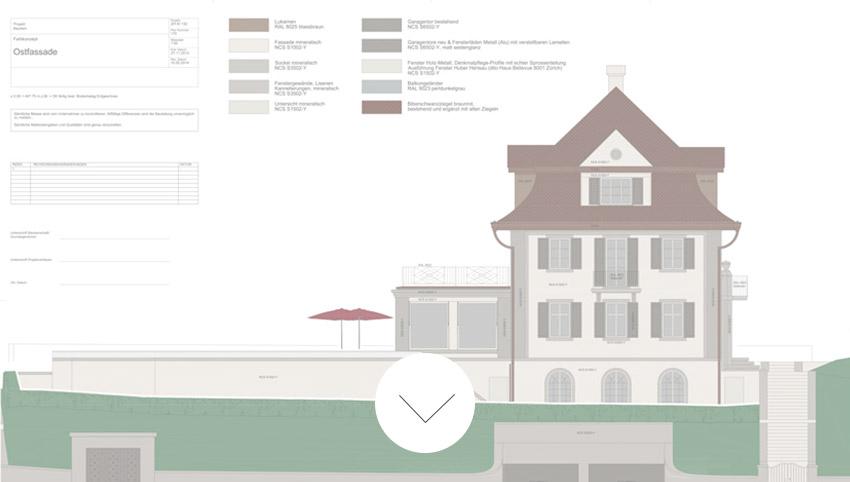 EFH Kilchberg Planung